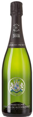 Barons de Rothschild, Brut, Champagne, France, 2008