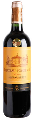 Château Fonréaud, Listrac, Cru Bourgeois, Bordeaux, 2012