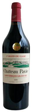 Château Pavie, St Emilion, Premier Grands Crus Classes, 2012