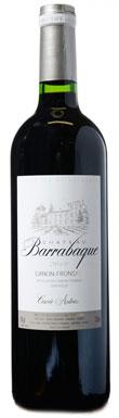 Château Barrabaque, Canon-Fronsac, Cuvée Prestige, 2012