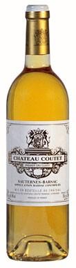 Château Coutet, Barsac, 1er Cru Classé, Bordeaux, 2013
