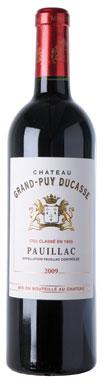 Château Grand-Puy Ducasse, Pauillac, 5ème Cru Classé, 2009