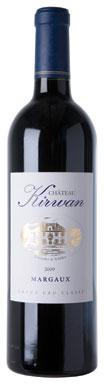 Château Kirwan, Margaux, 3ème Cru Classé, Bordeaux, 2009
