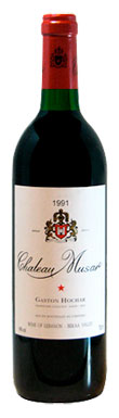 Chateau Musar, Red, Bekaa Valley, Lebanon, 1991