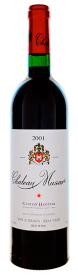Chateau Musar, Red, Bekaa Valley, Lebanon, 2001
