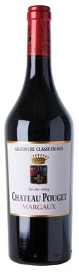 Château Pouget, Margaux, 4ème Cru Classé, Bordeaux, 2009
