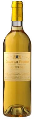 Château Romer, Sauternes, 2eme Cru Classé, Bordeaux, 2013