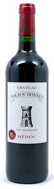 Chateau Tour St-Bonnet, Médoc, Cru Bourgeois, 2012