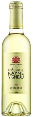 Château de Rayne Vigneau, Sauternes, 1er Cru Classé, 2011