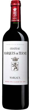 Château Marquis de Terme, Margaux, 4ème Cru Classé, 2016