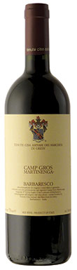 Cisa Asinari Marchesi di Gresy, Barbaresco, Martinenga Camp