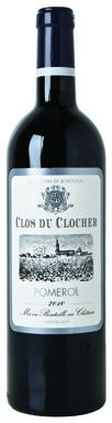 Clos du Clocher, Pomerol, Bordeaux, France, 2016