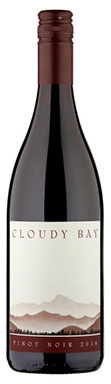 Cloudy Bay, Pinot Noir, Malborough, New Zealand, 2015
