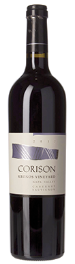 Corison, Napa Valley, Kronos Vineyard, California, USA, 2012