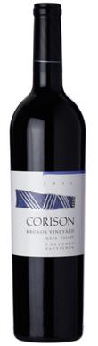Corison, Napa Valley, Kronos Vineyard Cabernet Sauvignon,