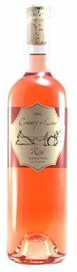 County Line Vineyards, Sonoma Coast, Rosé, California, 2015