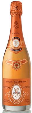 Louis Roederer, Cristal Rosé (Magnum), Champagne, 2002