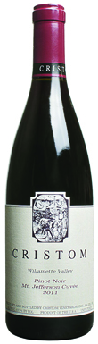 Cristom Vineyards, Mt. Jefferson Cuvée Pinot Noir, 2011
