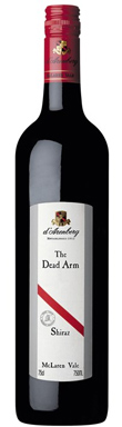 d'Arenberg, McLaren Vale, The Dead Arm Shiraz, 2011