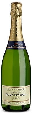 De Saint Gall, Brut, Champagne, France, 2012