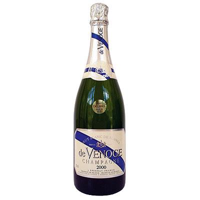 De Venoge, Blanc de Blancs, Champagne, France, 2000
