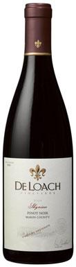 DeLoach, Stubbs Vineyard, Pinot Noir, Marin County, 2009