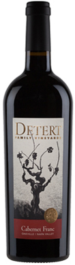 Detert Family Vineyards, Napa Valley, Oakville, Cabernet