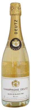 Deutz, Blanc de Blancs, Champagne, France, 1993