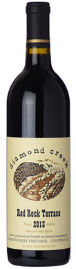 Diamond Creek, Napa Valley, Red Rock Terrace, 2013