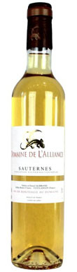 Domaine de L'Alliance, Sauternes, Bordeaux, France, 2013