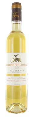 Domaine de L'Alliance, Sauternes, Bordeaux, France, 2016