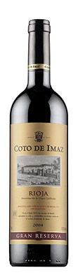 El Coto, Gran Reserva, Coto de Imaz, Rioja, 2004