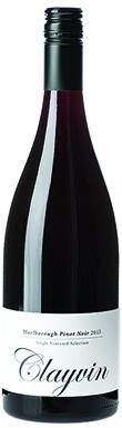 Giesen, Marlborough, Clayvin Pinot Noir, Marlborough, 2013