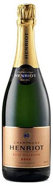 Henriot, Brut Rosé Millésimé, Champagne, France, 2002