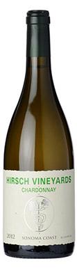 Hirsch Vineyards, Chardonnay, Sonoma Coast, California, 2012