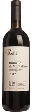 Il Colle, Brunello di Montalcino, Tuscany, Italy, 2012