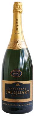 Jacquart, Brut Mosaïque (magnum), Champagne, France, 1992