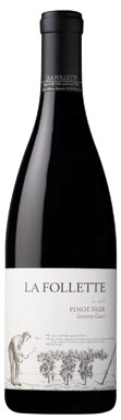 La Follette, Pinot Noir, Sonoma Coast, California, USA, 2009