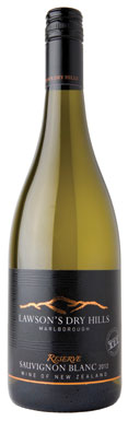 Lawson's Dry Hills, Reserve, Wairau Valley, 2012