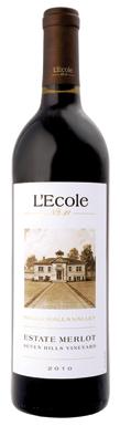 L'Ecole No 41, Seven Hills Vineyard Merlot, 2010