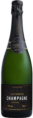 Les Pionniers, Selected Cuvée Brut, Champagne, France, 2008