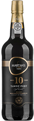 Martha's, Port, 10 Year Old Tawny, Douro, Portugal