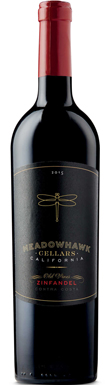 Meadowhawk, Contra Costa, Old Vines Zinfandel, 2015