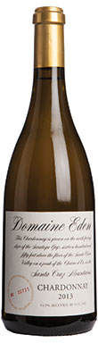Mount Eden, Santa Cruz Mountains, Domaine Eden Chardonnay,