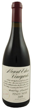 Mount Eden Vineyards, Pinot Noir, Santa Cruz Mountains, 2009