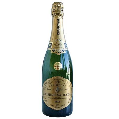 Union Champagne, Premier Cru, Pierre Vaudon, Champagne, 2004