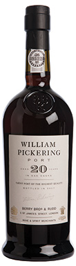 Berry Bros & Rudd, Port, William Pickering 20 Year Old Tawny