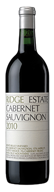 Ridge Vineyards, Santa Cruz Mountains, Cabernet Sauvignon,