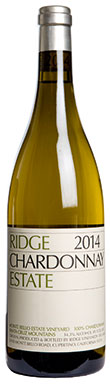 Ridge Vineyards, Santa Cruz Mountains, Estate Chardonnay,