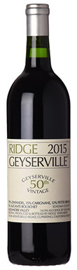 Ridge Vineyards, Sonoma County, Alexander Valley,